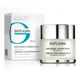 GiGi Bioplasma Moisturizer Supreme Day Cream SPF 20 Normal Dry Skin 50 ml