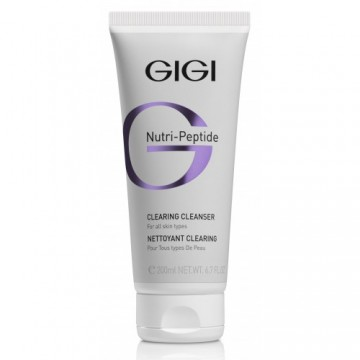 GiGi Nutri-Peptide Clearing Cleanser For All Skin Types 200ml