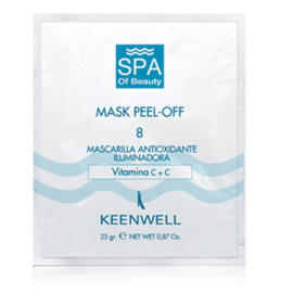 Keenwell SPA of Beauty 8 Peel-Off Vitamine C+C Mask