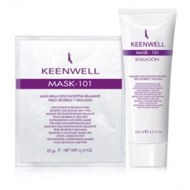 Keenwell Mask 101 Decongestive Relaxing Face Mask for Sensitive and Delicate Skin