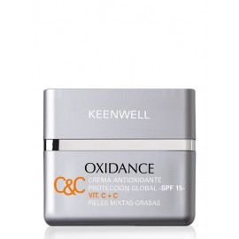 Keenwell Oxidance C&C Antioxidant Multidefense Cream SPF15  OILY-MIX SKIN 50ml