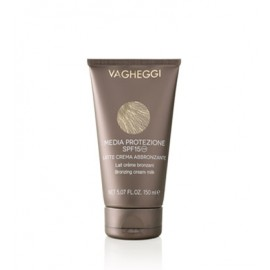 Vagheggi Sun Products BRONZING CREAM MILK HIGH PROTECTION SPF15 (150ml)